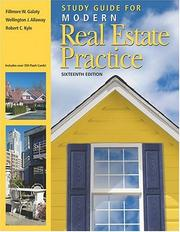 Cover of: Study Guide for Modern Real Estate Practice