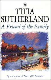 Cover of: A Friend Of The Family