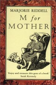 Cover of: M for Mother