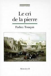 Cover of: Le cri de la pierre