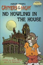 Cover of: No howling in the house