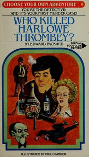 Cover of: Who Killed Harlowe Thrombey?