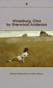 Cover of: Winesburg, Ohio