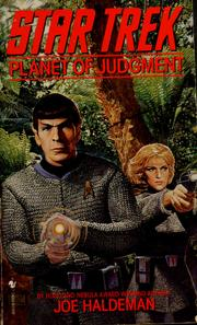 Cover of: Planet of Judgment (Star Trek)
