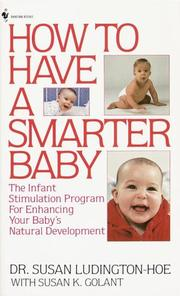 Cover of: How to Have a Smarter Baby