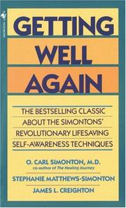 Cover of: Getting Well Again