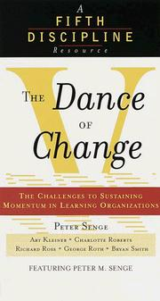 Cover of: The Dance of Change (abridged)