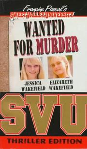 Cover of: Wanted for Murder