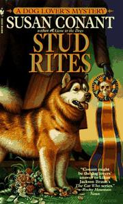 Cover of: Stud Rites (Dog Lover's Mysteries)