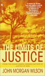 Cover of: The Limits of Justice (Benjamin Justice Mysteries