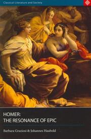 Cover of: Homer
