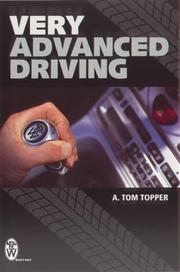 Cover of: Very Advanced Driving (Right Way)