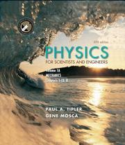 Cover of: Physics for Scientists and Engineers, Volume 1A. Mechanics (Physics for Scientists and Engineers)