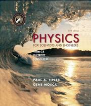 Cover of: Physics for Scientists and Engineers, Volume 2A