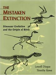 Cover of: The Mistaken Extinction