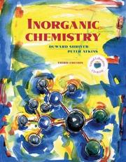 Cover of: Inorganic Chemistry, Third Edition w/CD