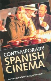 Cover of: Contemporary Spanish Cinema