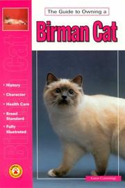 Cover of: The Guide to Owning a Birman Cat (The Guide to Owning)