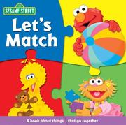 Cover of: Sesame Street Let's Match (Sesame Street (Reader's Digest))