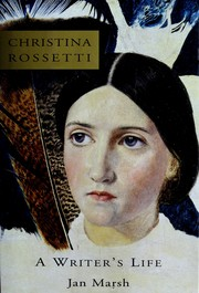 Cover of: Christina Rossetti: a writer's life