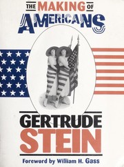 Cover of: The making of Americans