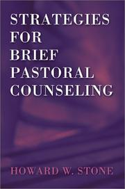 Cover of: Strategies for Brief Pastoral Counseling (Creative Pastoral Care and Counseling)