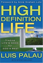 Cover of: High Definition Life