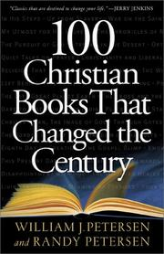 Cover of: 100 Christian Books That Changed the Century