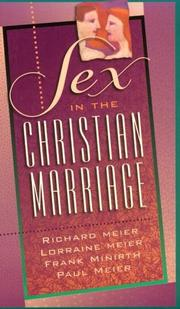 Cover of: Sex in the Christian Marriage