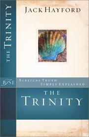 Cover of: The Trinity (Biblical Truth Simply Explained)
