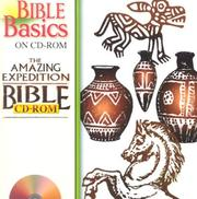 Cover of: The Amazing Expedition Bible CD-ROM (Bible Basics on CD-ROM)