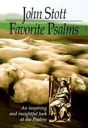 Cover of: Favourite Psalms
