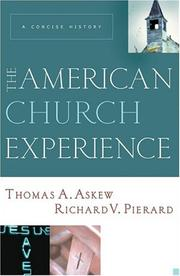 Cover of: The American Church Experience