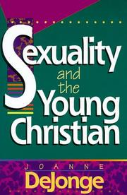 Cover of: Sexuality and the Young Christian