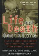 Cover of: Life and Death Decisions