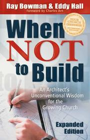 Cover of: When Not to Build, exp. ed.