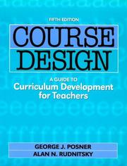 Cover of: Course Design