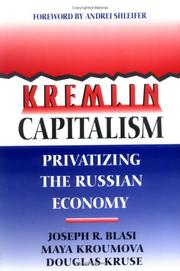 Cover of: Kremlin Capitalism