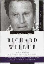 Cover of: Voice of the Poet: Richard Wilbur (Voice of the Poet)
