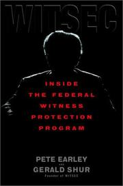 Cover of: WITSEC: Inside the Federal Witness Protection Program