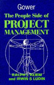 Cover of: The People Side of Project Management