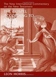 Cover of: The Gospel according to John
