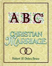Cover of: The ABCs of Christian Marriage