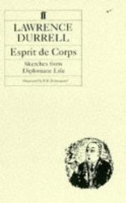Cover of: Esprit De Corps