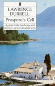 Cover of: Prosperos Cell a Guide to the Landscape and Mann