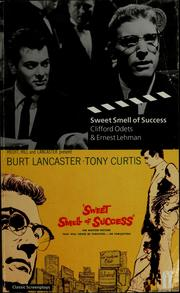 Cover of: Sweet Smell of Success (Faber and Faber Screenplays)