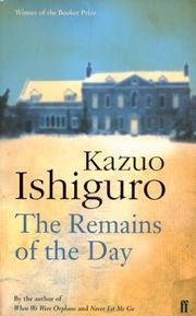 Cover of: The Remains of the Day (FF Classics)