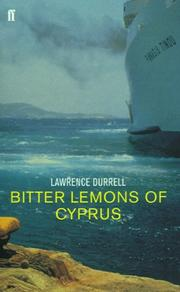 Cover of: Bitter Lemons of Cyprus