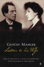 Cover of: Letters to his wife