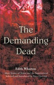Cover of: The Demanding Dead: more stories of terror and the supernatural